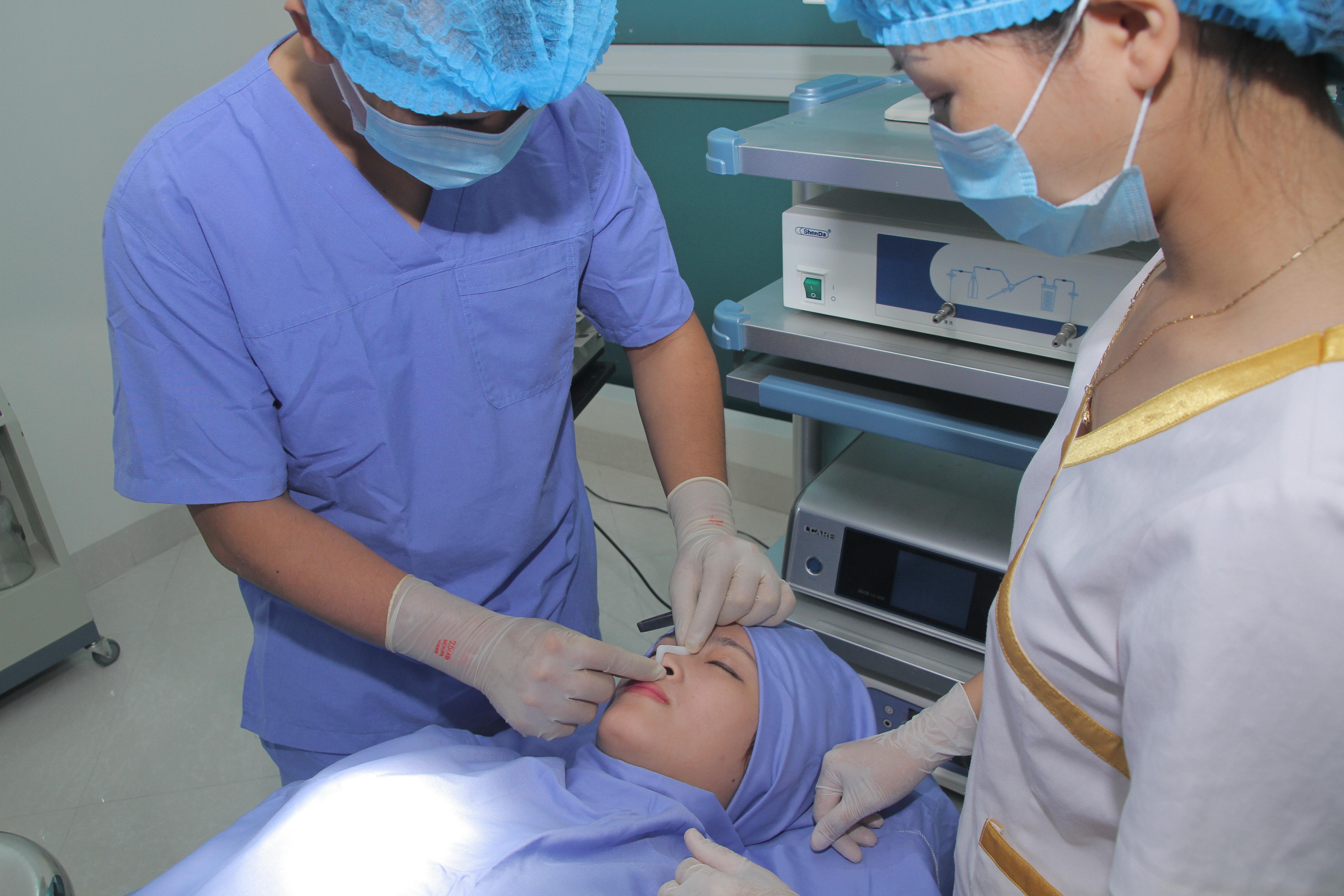 Kangnam thẩm mỹ viện nâng mũi theo quy trình đạt chuẩn theo yêu cầu của bộ y tế