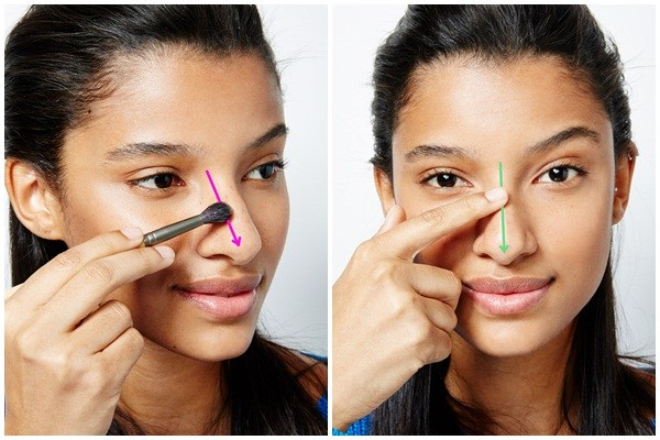 Tự tin hơn hẳn với bí quyết trang điểm cho mũi tẹt 2