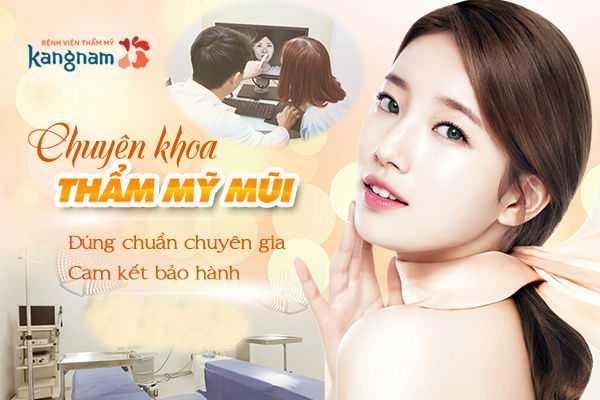 Chuyên khoa thẩm mỹ mũi tại BVTM Kangnam