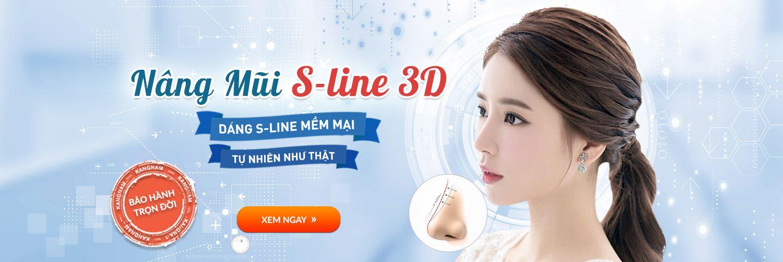 Nâng mũi s line 3D công nghệ nâng mũi HOT 2017