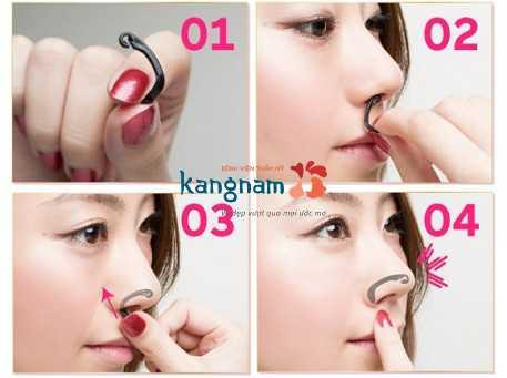 Cách làm mũi nhỏ lại 1