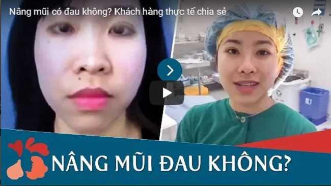 Video tại kangnam nâng mũi có đau không